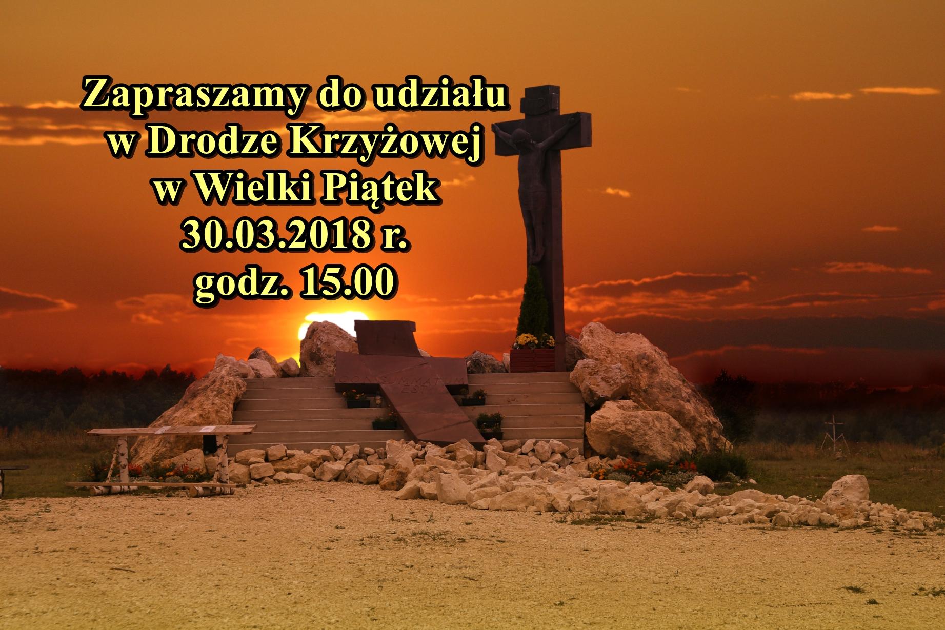 Zapraszamy na Drogę Krzyżową