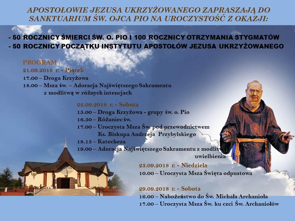 50 rocznica śmierci Świętego Ojca Pio